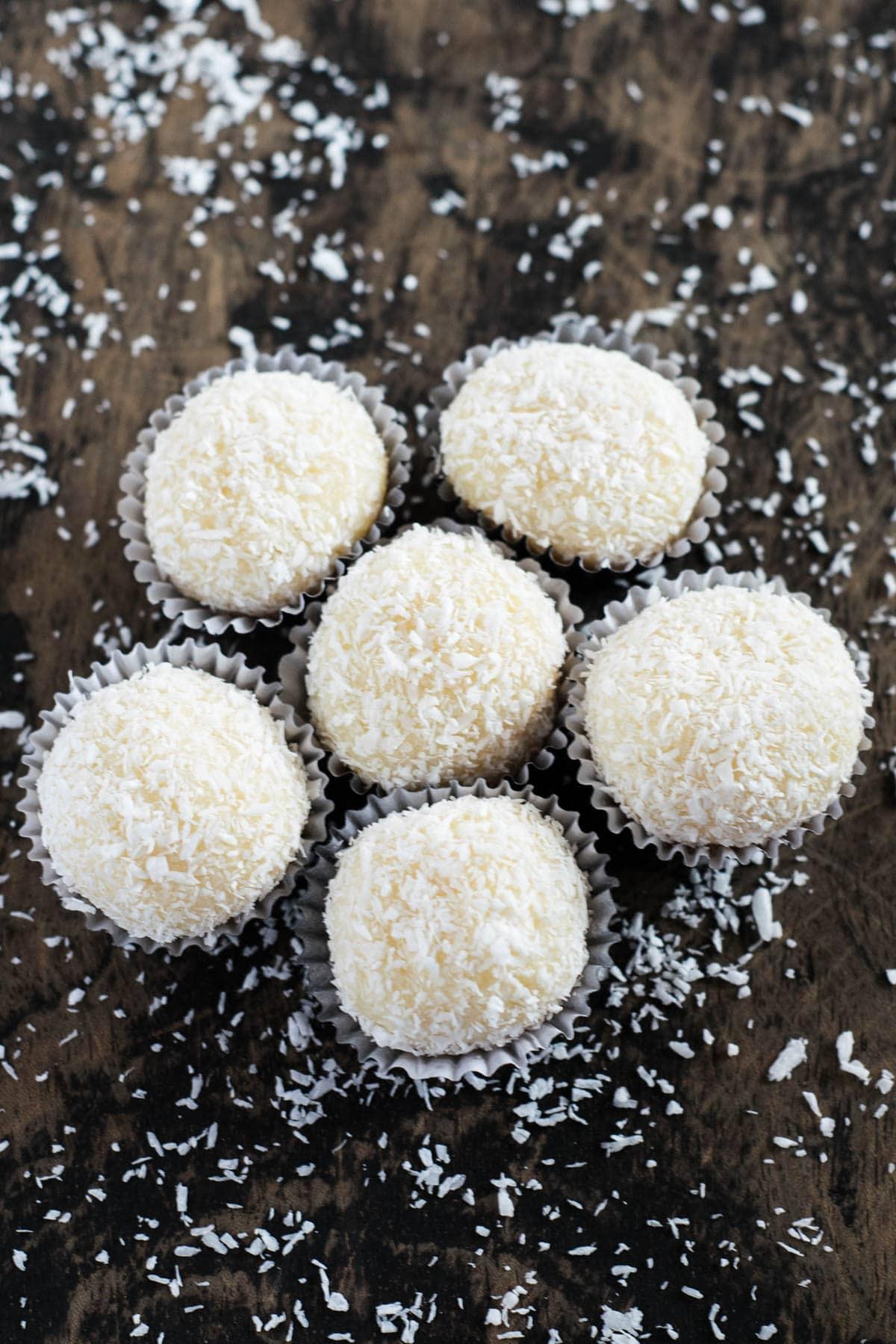 Beijinhos: Brazilian Coconut Truffles