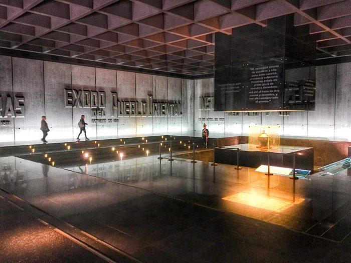 Inside General Artigas Mausoleum