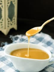 This Microwave Caramel Sauce recipe is easy, quick to make and tastes great!