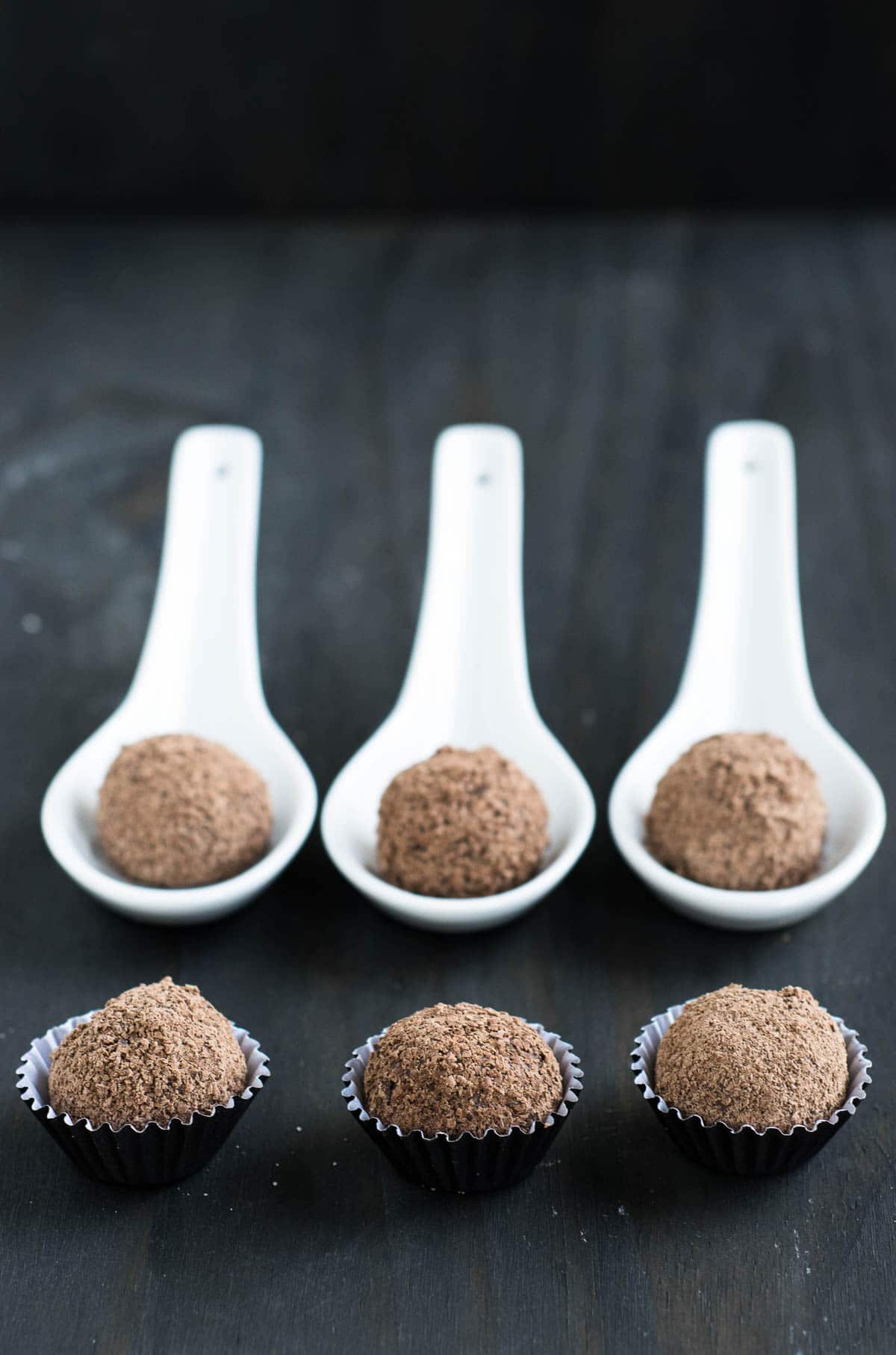 Brazilian chocolate truffles Brigadeiros