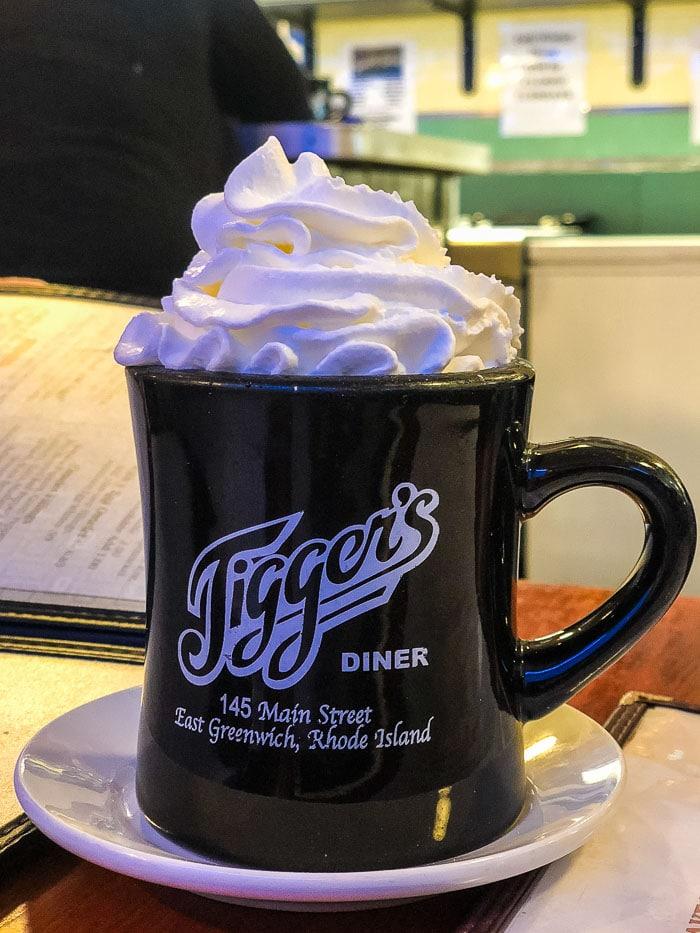 Jigger's Diner in East Greenwich, Rhode Island
