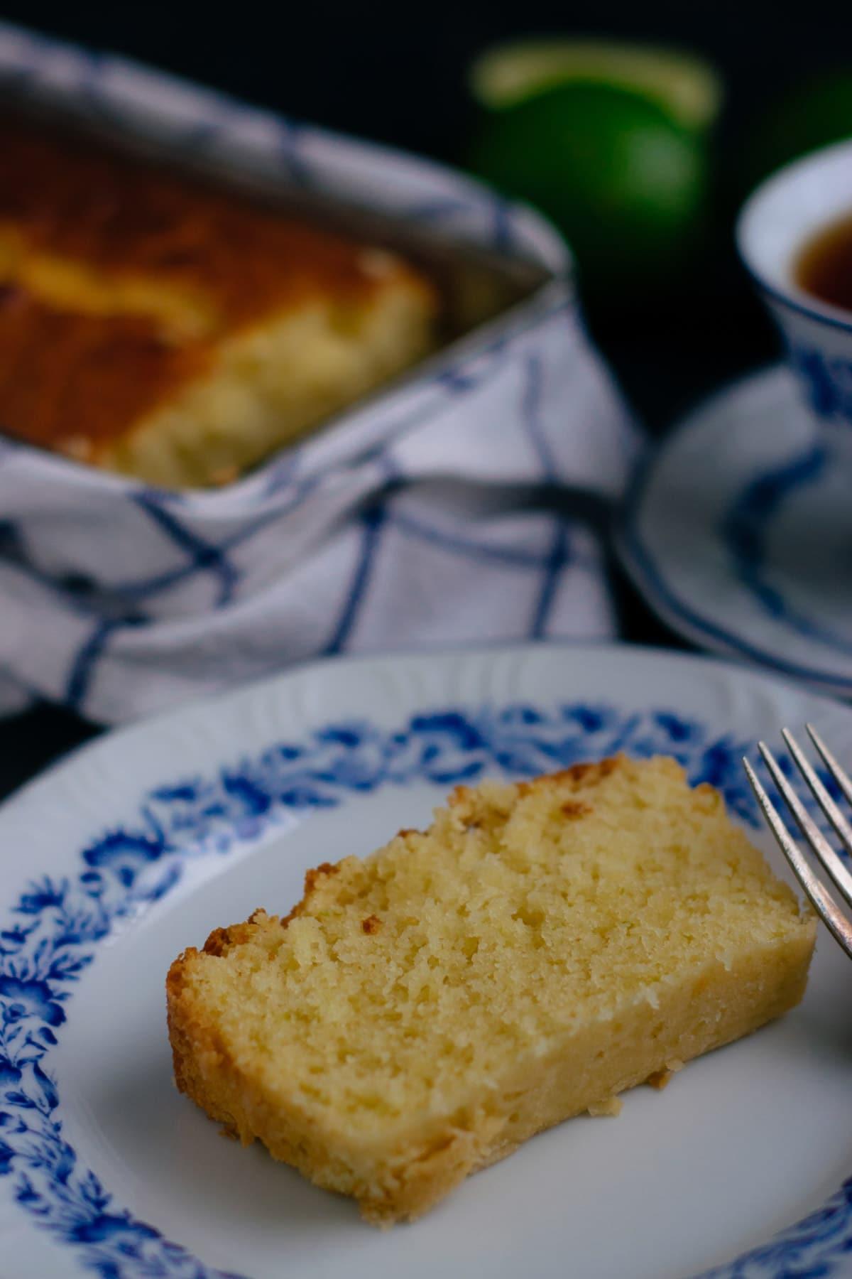 lime coffee cake