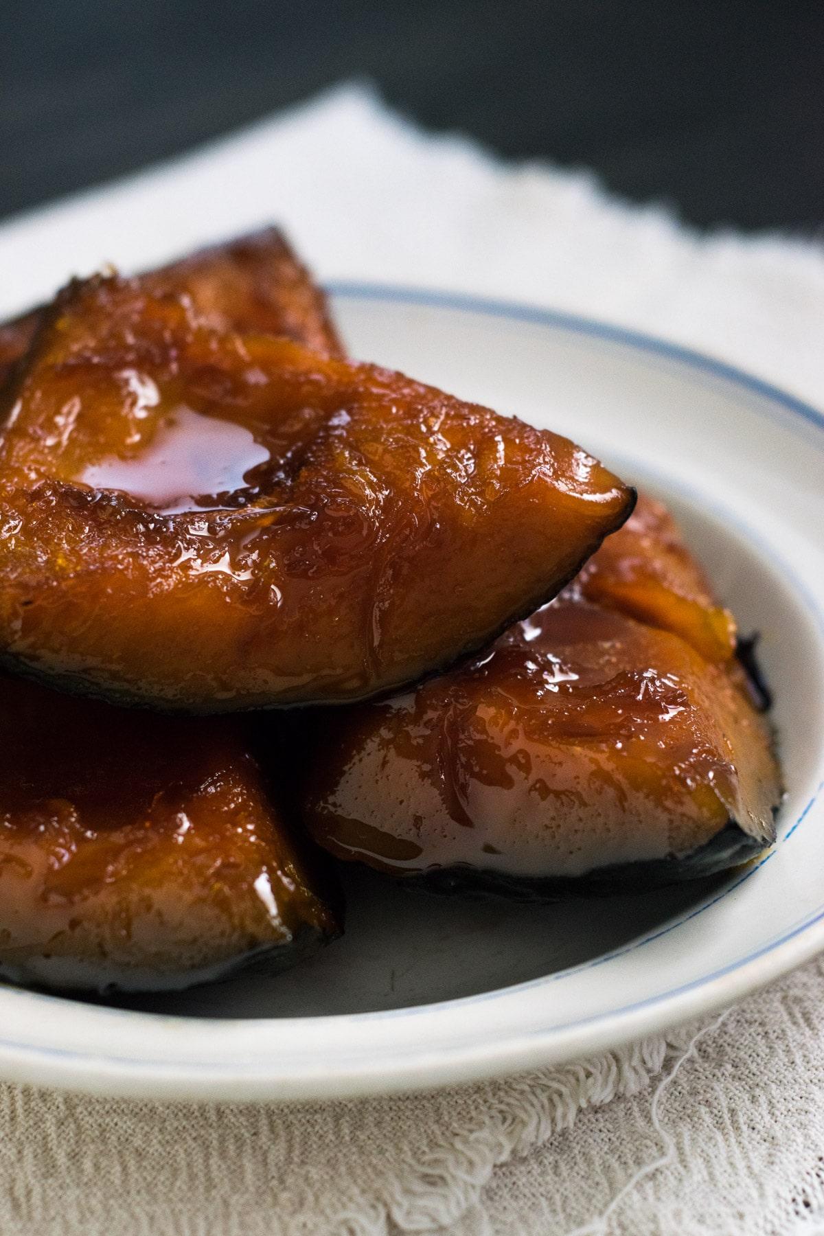 caramelized kabocha squash